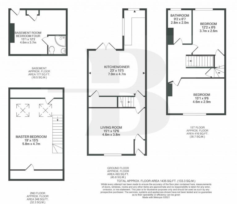 Floorplans For Rose Green Road, Eastville