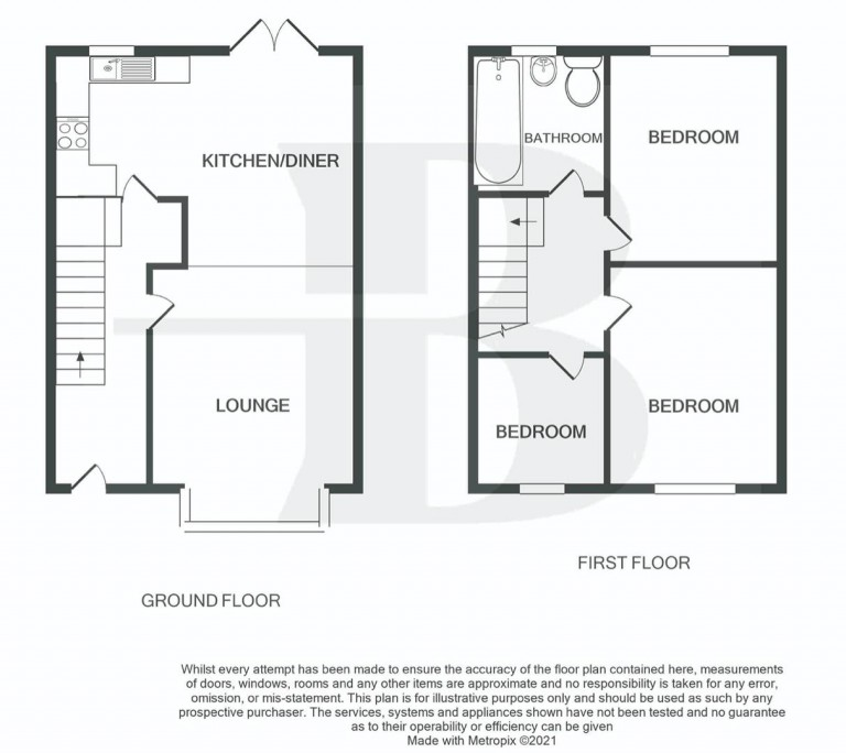 Floorplans For Beverley Road, Horfield