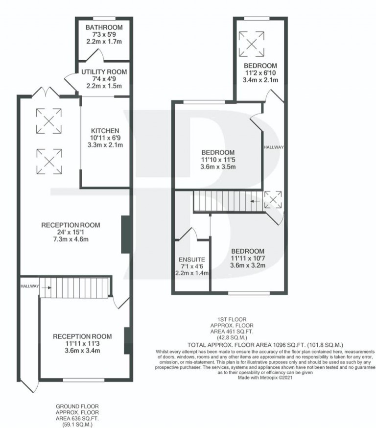 Floorplans For Foster Street, Easton